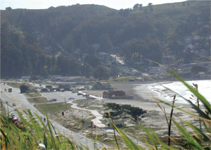 Pacifica State Beach, post construction, 2005. Photo courtesy City of Pacifica