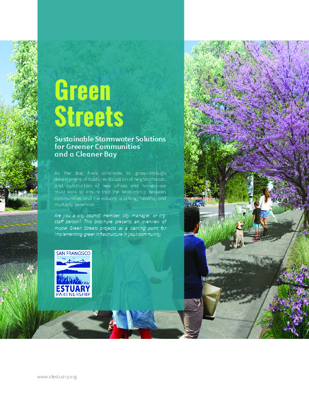 Green Streets brochure cover