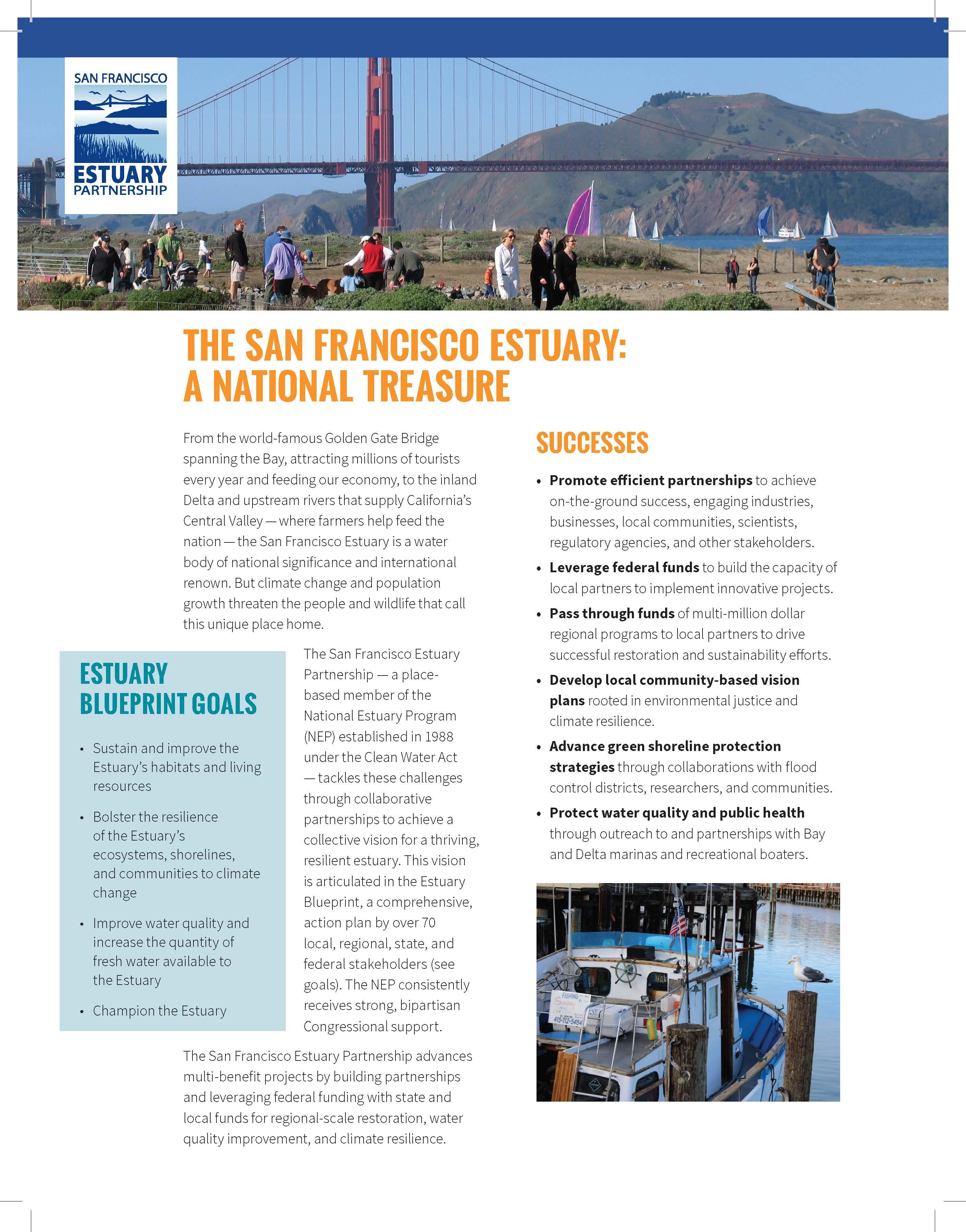 Image of 2019 SFEP factsheet