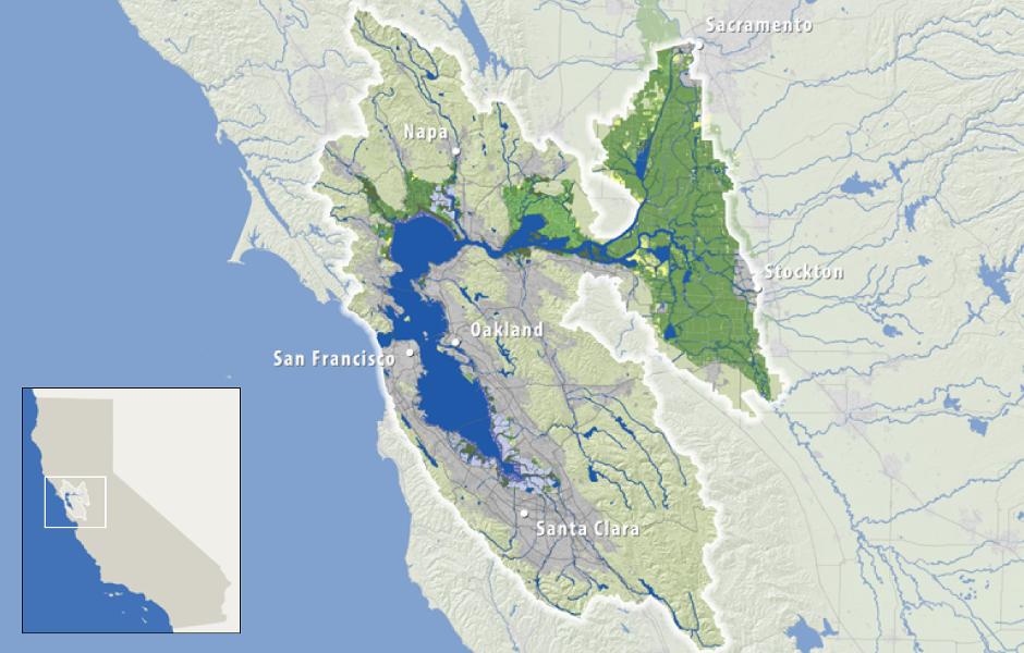 SFEP Planning Area Map