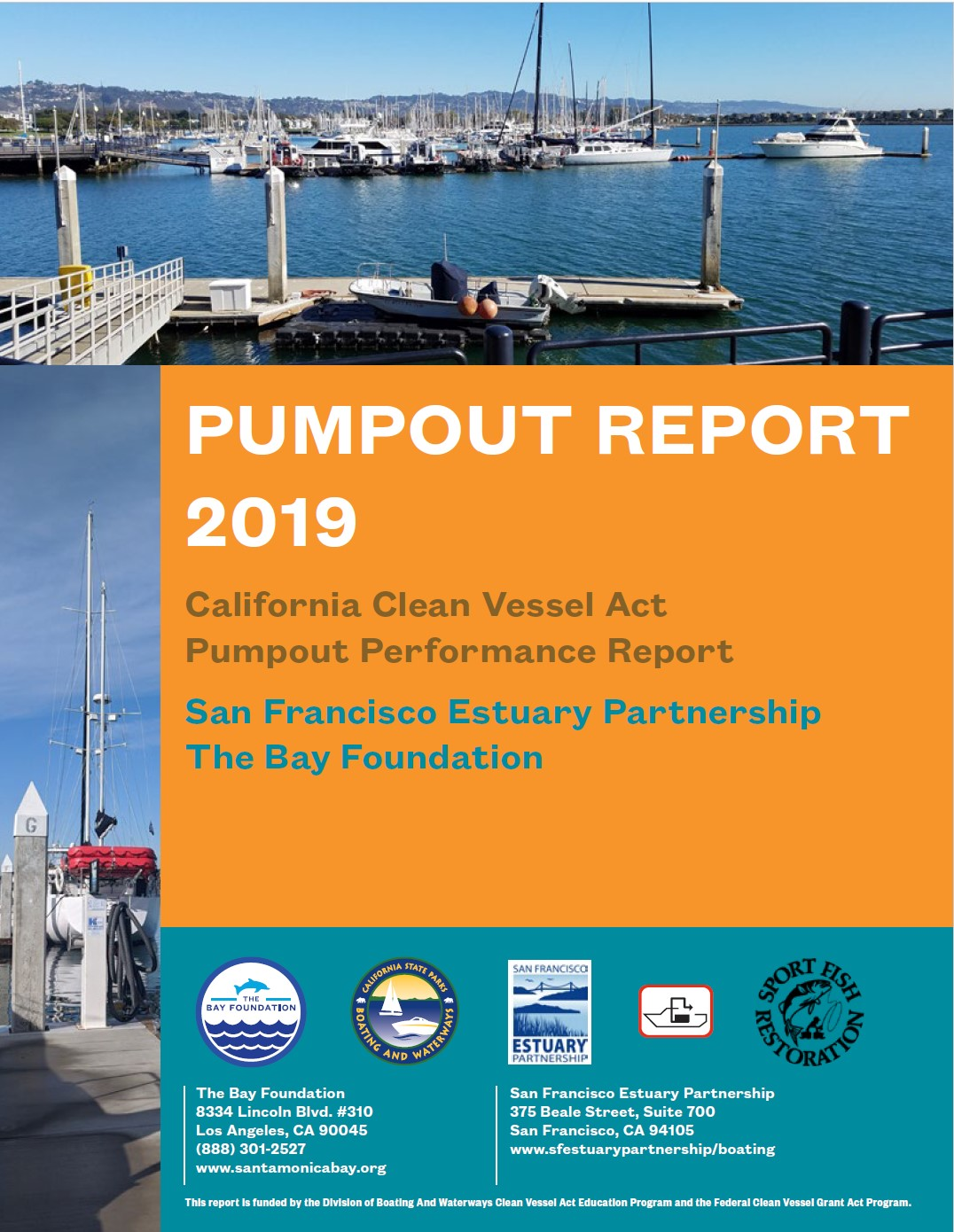 California Pumpout Report 2019