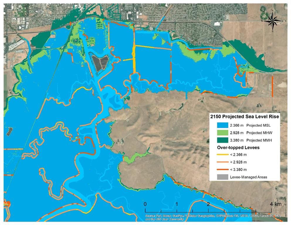 2150 sea level rise